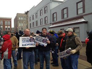 Local #379 supports USW at Cooper Tire Factory