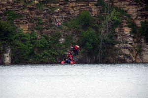 Rescue at the Quarry
